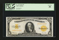 Large Size:Gold Certificates, Fr. 1173 $10 1922 Gold Certificate PCGS Very Fine 30....