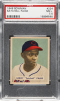 Baseball Cards:Singles (1940-1949), 1949 Bowman Satchell Paige #224 PSA NM+ 7.5....