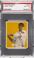 Baseball Cards:Singles (1940-1949), 1949 Bowman Larry Doby #233 PSA NM-MT 8....