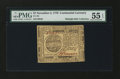 Colonial Notes:Continental Congress Issues, Continental Currency November 2, 1776 $7 PMG About Uncirculated 55EPQ....