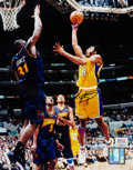 Basketball Collectibles:Photos, Kobe Bryant Signed Photograph....
