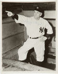 Baseball Collectibles:Photos, Casey Stengel Signed Photograph. ...