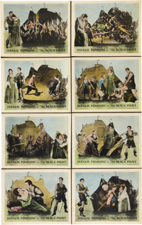 "The Black Pirate (United Artists, 1926). Lobby Card Set of 8 (11"" X 14""). ... (Total: 8 Items)"