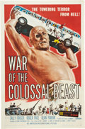 "Movie Posters:Science Fiction, War of the Colossal Beast (American International, 1958). One Sheet(27"" X 41"").. ..."