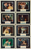 """Movie Posters:Hitchcock, Strangers on a Train (Warner Brothers, 1951). Lobby Card Set of 8(11"""" X 14"""").. ... (Total: 8 Items)"""