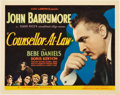 "Movie Posters:Drama, Counsellor at Law (Universal, 1933). Title Lobby Card and LobbyCards (4) (11"" X 14"").. ... (Total: 5 Items)"