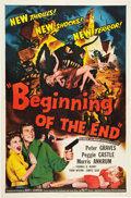 "Movie Posters:Science Fiction, Beginning of the End (Republic, 1957). One Sheet (27"" X 41"").. ..."