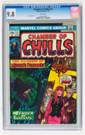 Bronze Age (1970-1979):Horror, Chamber of Chills #13 (Marvel, 1974) CGC NM/MT 9.8 White pages....