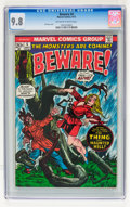 Bronze Age (1970-1979):Horror, Beware #4 (Marvel, 1973) CGC NM/MT 9.8 Off-white to white pages....