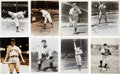 Baseball Collectibles:Photos, New York Yankees Signed Photographs Lot of 8....