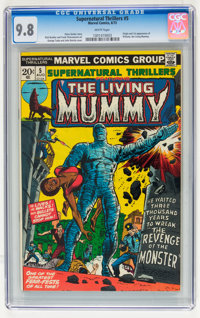 Supernatural Thrillers #5 (Marvel, 1973) CGC NM/MT 9.8 White pages