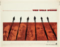 "Movie Posters:Western, The Wild Bunch (Warner Brothers, 1969). Half Sheet (22"" X 28"")....."