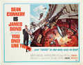 """Movie Posters:James Bond, You Only Live Twice (United Artists, 1967). Half Sheet (22"""" X 28"""").. ..."""