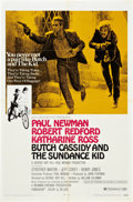 "Movie Posters:Western, Butch Cassidy and the Sundance Kid (20th Century Fox, 1969). One Sheet (27"" X 41"") Style B.. ..."
