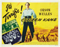 "Movie Posters:Drama, Citizen Kane (RKO, 1941). Half Sheet (22"" X 28"") Style B.. ..."