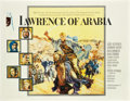 "Movie Posters:War, Lawrence of Arabia (Columbia, 1962). Half Sheet (22"" X 28"").. ..."