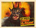 """Movie Posters:Horror, Curse of the Demon (Columbia, 1957). Lobby Card (11"""" X 14"""").. ..."""