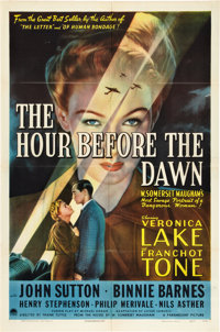 "The Hour Before the Dawn (Paramount, 1944). One Sheet (27"" X 41"") Style A"
