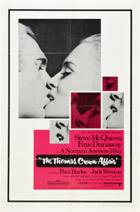 "The Thomas Crown Affair (United Artists, 1968). One Sheet (27"" X 41"")"
