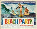"Movie Posters:Comedy, Beach Party (American International, 1963). Half Sheet (22"" X28"").. ..."