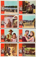 """Movie Posters:Western, A Fistful of Dollars (United Artists, 1967). Lobby Card Set of 8(11"""" X 14"""").. ... (Total: 8 Items)"""