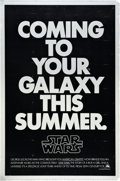 "Movie Posters:Science Fiction, Star Wars (20th Century Fox, 1977). One Sheet (27"" X 41"") SecondAdvance.. ..."