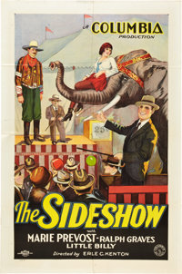 """The Sideshow (Columbia, 1928). One Sheet (27"""" X 41"""") Style B"""
