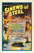 "Movie Posters:Drama, Sinews of Steel (Lumas, 1927). One Sheet (27"" X 41"") Style A.. ..."