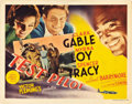 "Movie Posters:Action, Test Pilot (MGM, 1938). Title Lobby Card (11"" X 14"").. ..."