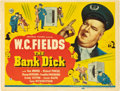 """Movie Posters:Comedy, The Bank Dick (Universal, 1940). Title Lobby Card (11"""" X 14"""").. ..."""