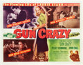 "Movie Posters:Film Noir, Gun Crazy (United Artists, 1949). Half Sheet (22"" X 28"").. ..."