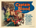 "Movie Posters:Adventure, Captain Blood (Warner Brothers, 1935). Title Lobby Card (11"" X 14"").. ..."