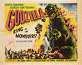 "Movie Posters:Science Fiction, Godzilla (Trans World, 1956). Half Sheet (22"" X 28"") Style B.. ..."