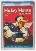 Platinum Age (1897-1937):Miscellaneous, Mickey Mouse Magazine #8 (K. K. Publications/ Western PublishingCo., 1936) CGC VG+ 4.5 Cream to off-white pages....