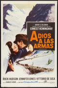 "Movie Posters:War, A Farewell to Arms Lot (20th Century Fox, 1958). Spanish LanguageOne Sheet (27"" X 41"") and Spanish Language Poster (22"" X 2...(Total: 2 Items)"