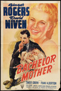 "Movie Posters:Comedy, Bachelor Mother (RKO, 1939). One Sheet (27"" X 39""). Comedy.. ..."