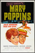 "Movie Posters:Fantasy, Mary Poppins (Buena Vista, R-1973). One Sheets (2) (27"" X 41"")Styles A and B. Fantasy.. ... (Total: 2 Items)"