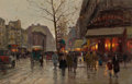 Paintings, EDOUARD-LÉON CORTÈS (French, 1882-1969). Porte St. Martin, circa 1935. Oil on canvas. 20-1/2 x 31-1/2 inches (52.1 x 80....