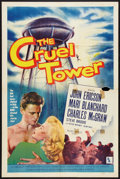 """Movie Posters:Adventure, The Cruel Tower (Allied Artists, 1956). One Sheet (27"""" X 41"""").Adventure.. ..."""