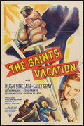 """Movie Posters:Mystery, The Saint's Vacation (RKO, 1941). One Sheet (27"""" X 41"""") Mystery....."""