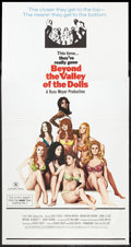 "Movie Posters:Bad Girl, Beyond the Valley of the Dolls (20th Century Fox, 1970). ThreeSheet (41"" X 81""). Bad Girl.. ..."