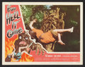 """Movie Posters:Horror, From Hell It Came Lot (Allied Artists, 1957). Lobby Cards (2) (11""""X 14""""). Horror.. ... (Total: 2 Items)"""