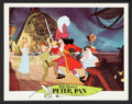 "Movie Posters:Animated, Peter Pan (Buena Vista, R-1969). Lobby Cards (7) (11"" X 14""). Animated.. ... (Total: 7 Items)"