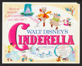 "Movie Posters:Animated, Cinderella (Buena Vista, R-1970s and R-1981). Title Lobby Card and Lobby Cards (9) (11"" X 14""). Animated.. ... (Total: 10 Items)"