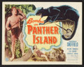 "Movie Posters:Adventure, Bomba on Panther Island (Monogram, 1949). Lobby Card Set of 8 (11""X 14""). Adventure.. ... (Total: 8 Items)"