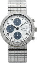 Timepieces:Wristwatch, Daniel Mink Collection 1900 Automatic Stainless Chronograph, circa 2005. ...