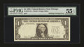 Error Notes:Missing Third Printing, Fr. 1913-G $1 1985 Federal Reserve Note. PMG About Uncirculated 55 EPQ.. ...
