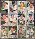 Baseball Cards:Lots, 1952 Bowman Baseball Collection (20) with HoFers! ...