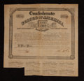 Confederate Notes:Group Lots, Ball 265 Cr. 130A $1000 Bond 1863 Fine. . ...