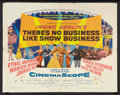 """Movie Posters:Musical, There's No Business Like Show Business (20th Century Fox, 1954). Half Sheet (22"""" X 28""""). Musical.. ..."""